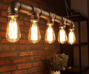 Industrial Radiance: 10 DIY Edison Bulb Lights that Leave You Dazzled
