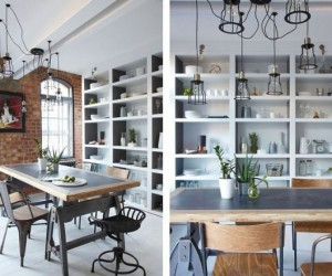 Industrialized musings: contemporary loft in Soho, London