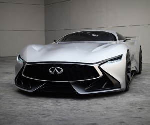 Infiniti Vision GT displayed in the Real World for the First Time