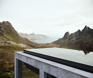 Infinity House: A Spectacular Window into Secluded Norwegian Landscape