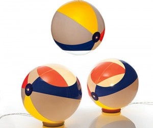 Inflatable Beach Ball Lights - Pendant and Tabletop
