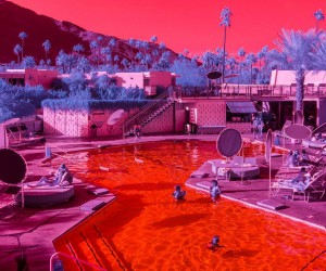 Infra Realism: Hypercolour Photos of California by Kate Ballis