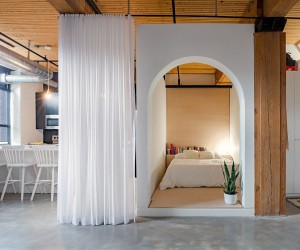 Ingenious Bed Box Designs Transforms this Modern Toronto Loft