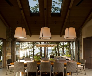 Ingenious Dining Rooms that Tap into the Brilliance of Skylights