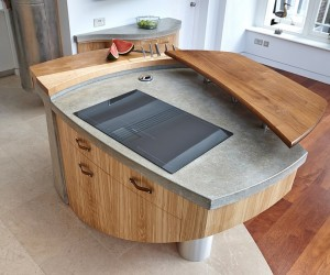 Ingenious Hand-Crafted Kitchens from Johnny Grey Offer Inimitable Versatility