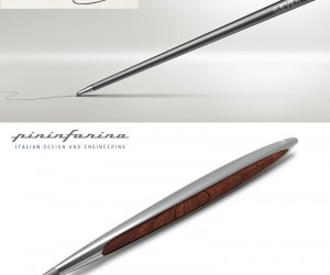 Inkless Pen by Pinafarina and Napkin
