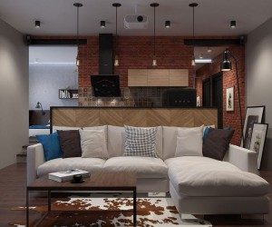 Innovative, Industrial and Space-Savvy: Tiny Bachelor Pad Does It All