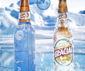 Innovative Print Ad Will Chill Your Beer