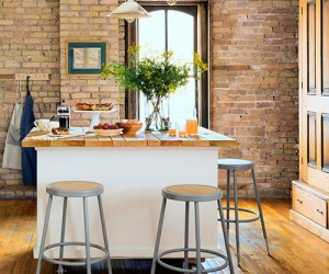 Inside a Charming Loft Filled with Farmhouse Style
