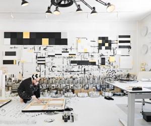 Inside Artist Tenka Gammelgaards Studio