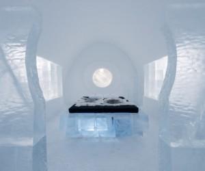 Inside the ICE HOTEL of Jukkasjrvi, Sweden
