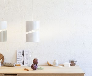 Inspired by above: the Ellissa modern pendant lamp
