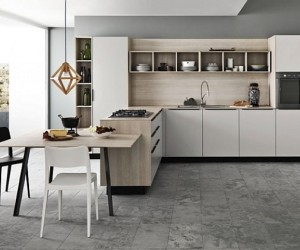 Inspired Contemporary Kitchens with Compositional Freedom