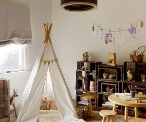 Inspired Displays: 20 Unique Shelves for a Creative Kids Room