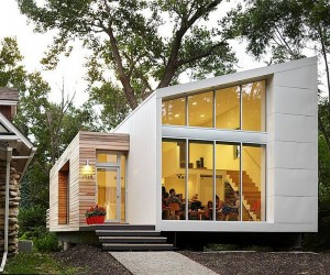 Inspired, Small budget Contemporary Home with Efficient Sustainability