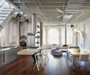 13 Inspired Stainless Steel Kitchens