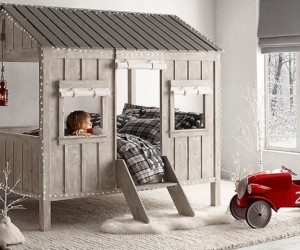 Inspiring nocturnal adventures: the childrens cabin bed