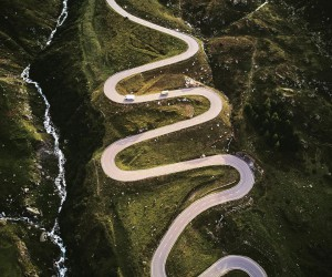 instaroads: Stunning Drone Photos of Roads by Fabian Frost