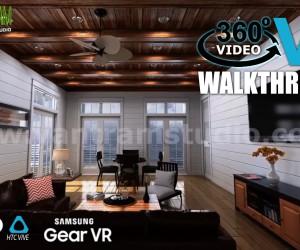 Interactive 360 VR Walkthrough Video Developed by Yantram Web Based Virtual Reality, Boston - USA