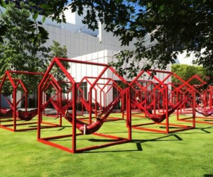 Interactive design installation in the States