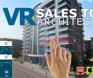 Interactive Virtual Reality Sales Tool by Yantram Studio - California