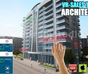 Interactive Web Base Real Estate Architecture of VR Development by 3D Walkthrough Services, Rome  Italy