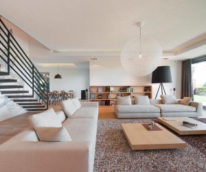 Interior Design of a Duplex Apartment