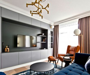 Interior in Vilnius by Indre Sunklodiene