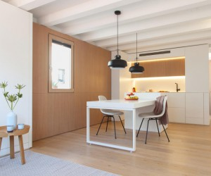 Interior Reform of a Mini Apartment in Barcelonas Gracia District
