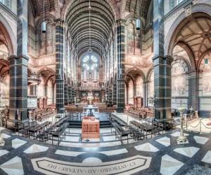 Interiors Of Amsterdams Churches by Arnold van Harmelen