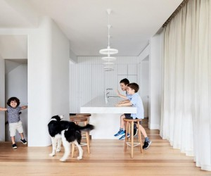 Interwar Duplex Turned Into Bright Family Residence