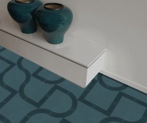 Modern Cement Tiles by Tesselle