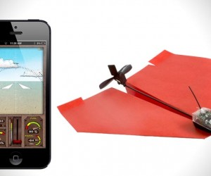 iPhone Controlled Paper Planes
