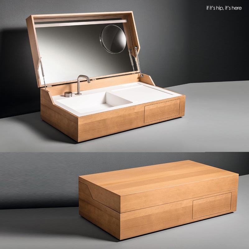 Its A Sink In A Box Hidden By Makro