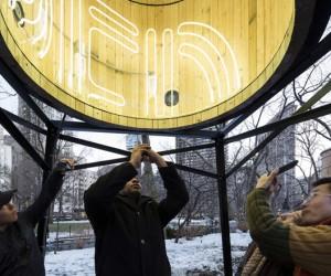 Ivn Navarros installation at Madison Square Park