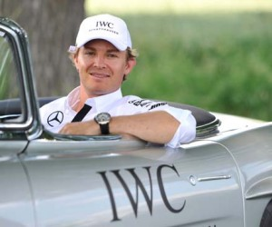 IWC Ingenieur Automatic Edition Tribute to Nico Rosberg for Only Watch 2015