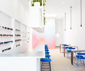 J Byron-H Designs Color Camp Nail Bar in LA