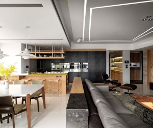 Jade Apartment by Ryan Lai Architects