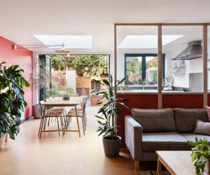 Jailmake Refurbishes 1960s House in Londons Peckham