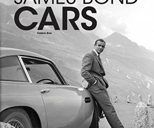 James Bond Cars Book by Frdric Brun