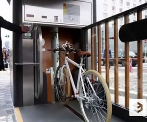 Japans Underground Bicycle Storage