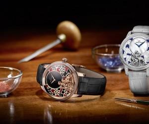 Jaquet Droz Petite Heure Minute Goat Timepieces