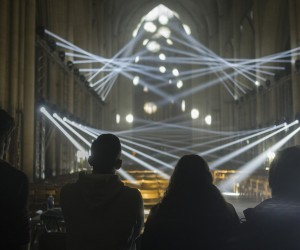 Jason Brugess Light Masonry installation at York Minster