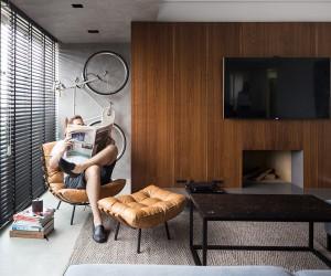 JB Apartment in Porto Alegre by Ambidestro Arquitetura