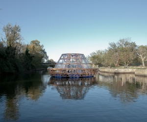 Jellyfish Barge  floating agricultural greenhouse