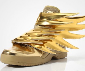 Jeremy Scott x adidas Original Wings 3.0 GOLD