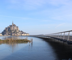 Jetty Mont-Saint-Michel by Dietmar Feichtinger
