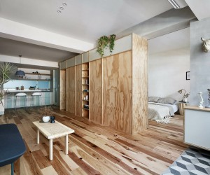 Ji Apartment in Taipei by KC Design Studio