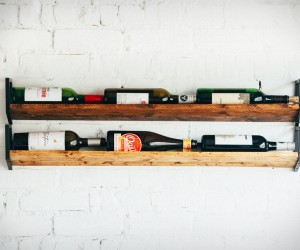 JM  Sons Wall Wine Rack