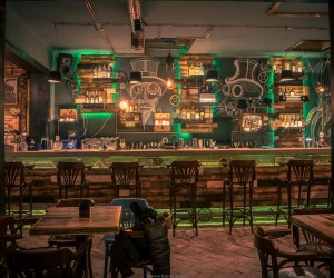 Joben Bistro: fascination of steampunk style